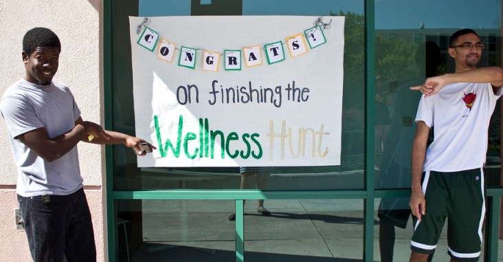 Wellness LLC hosted a Wellness Hunt for members last year.